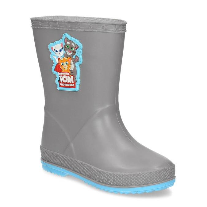 96b8293b1599 Coqui Detské sivé čižmy - Všetky chlapčenské topánky