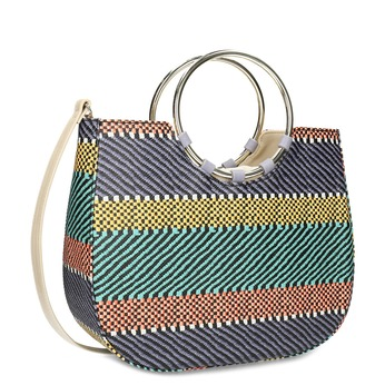 a030188e7fab4 Dámska kabelka so vzorom bata-red-label, modrá, 961-9970 -