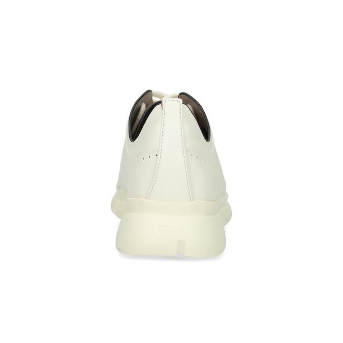 Dámske tenisky s perforáciou biele bata-b-flex, biela, 521-1650 - 15