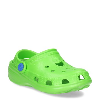 Zelené detské sandále s prestrihmi coqui, zelená, 372-7655 - 13