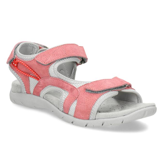 e138a7162d76 Weinbrenner Dámske kožené sandále červené - Novinky