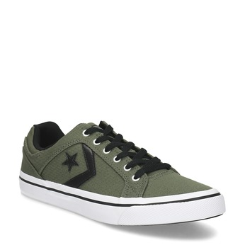 Pánske khaki tenisky converse, zelená, 889-7259 - 13
