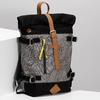 Šedý unisex batoh so vzorom bata-colours-of-ostrava, šedá, 969-2705 - 17