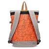 Oranžový unisex batoh so vzorom bata-colours-of-ostrava, oranžová, 969-5705 - 16
