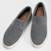 Pánske úpletové slip-on tenisky šedé bata-red-label, šedá, 839-2603 - 16