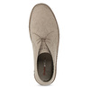 Členková pánska obuv s oranžovou podrážkou bata-b-flex, šedá, 899-8600 - 17