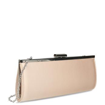 Béžová dámska listová kabelka s retiazkou bata, béžová, 969-8811 - 13