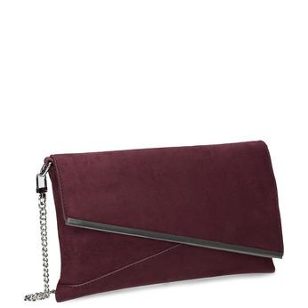 Bordó crossbody kabelka bata, červená, 969-5706 - 13