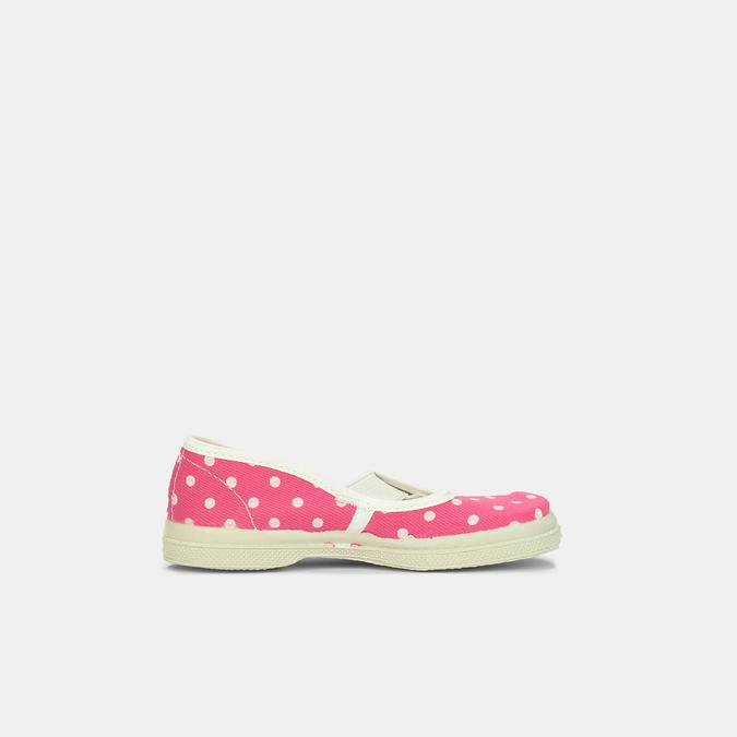 Ružové detské prezuvky s bodkami bata, ružová, 279-5102 - 15