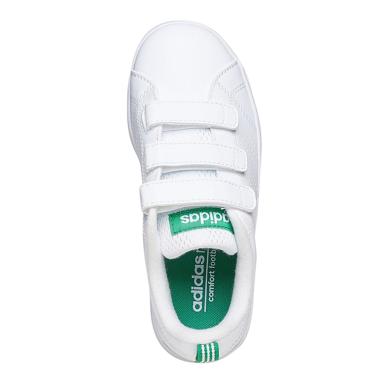 6a8ff2682de57 ... Detské biele tenisky na suchý zips adidas, biela, 301-1168 - 19
