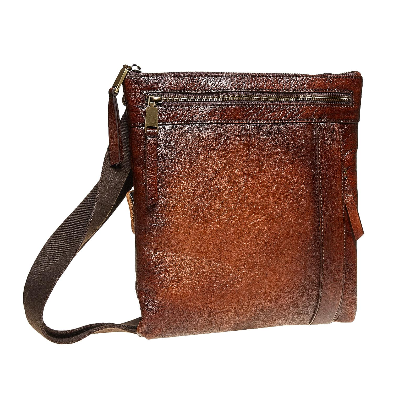 6156b9cb0c Bata Pánska kožená Crossbody taška - Pánske tašky
