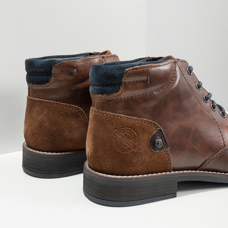 Baťa Pánska kožená členková obuv - Všetky topánky  95fac266c0e
