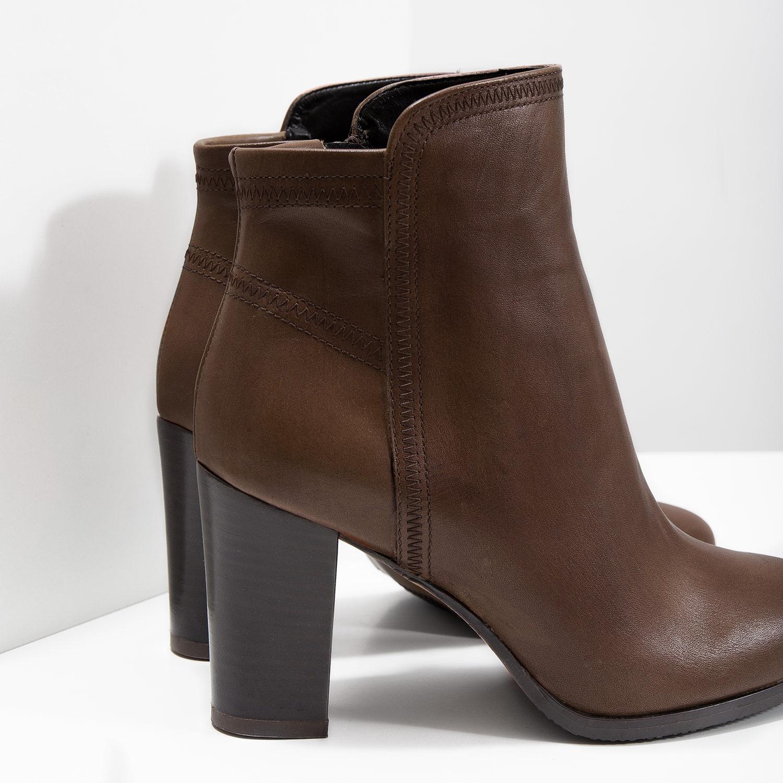 Baťa Kožená členková obuv - Všetky topánky  06763ebb8e5