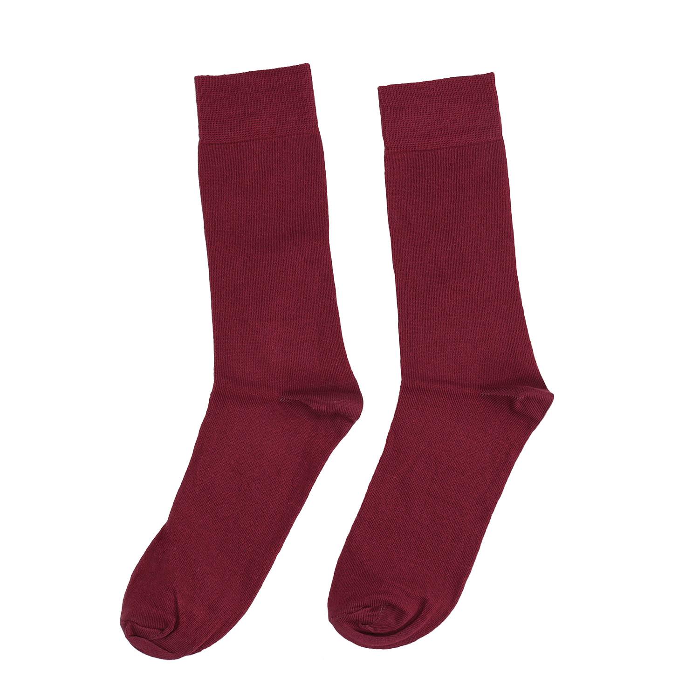 Baťa Pánske vínové ponožky - Ponožky  5b5bcadc81