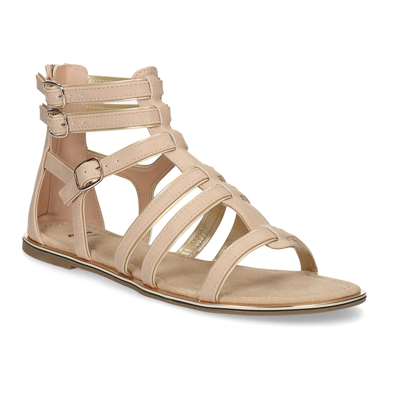 83a06492714c Baťa Béžové dámske sandále Gladiátorky - Sandále