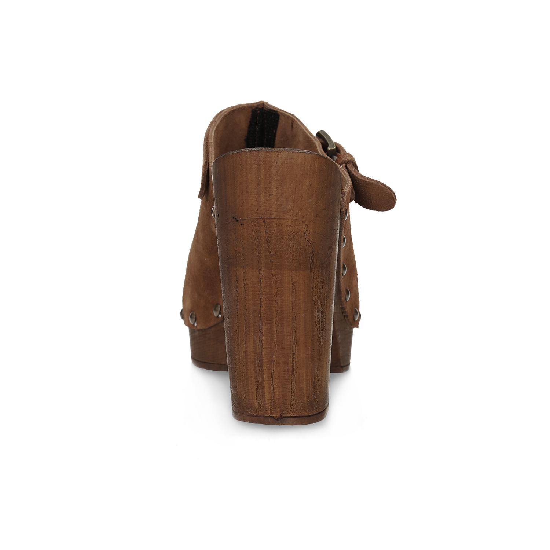 36a61d9ca51f0 ... Dámske dreváky s prackou bata, hnedá, 763-4604 - 15 ...