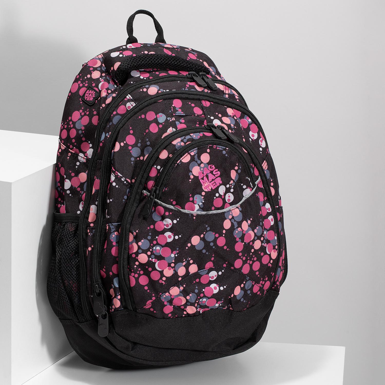 abf5082d94 Bagmaster Školský batoh s bodkami - Školské batohy