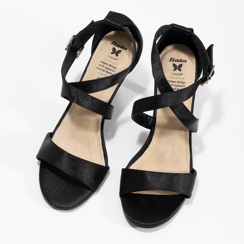 7002f7d15 ... Čierne sandále na ihličkovom podpätku insolia, čierna, 729-6633 - 16 ...