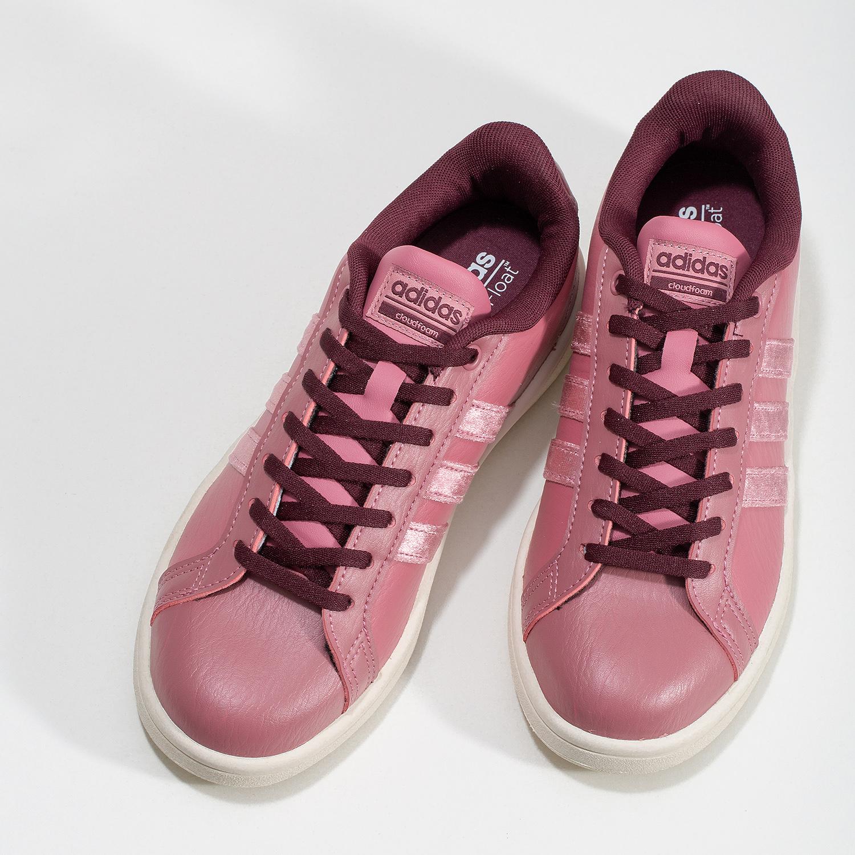 f624bf7e519cb ... Ružové dámske ležérne tenisky adidas, červená, 501-5101 - 16 ...