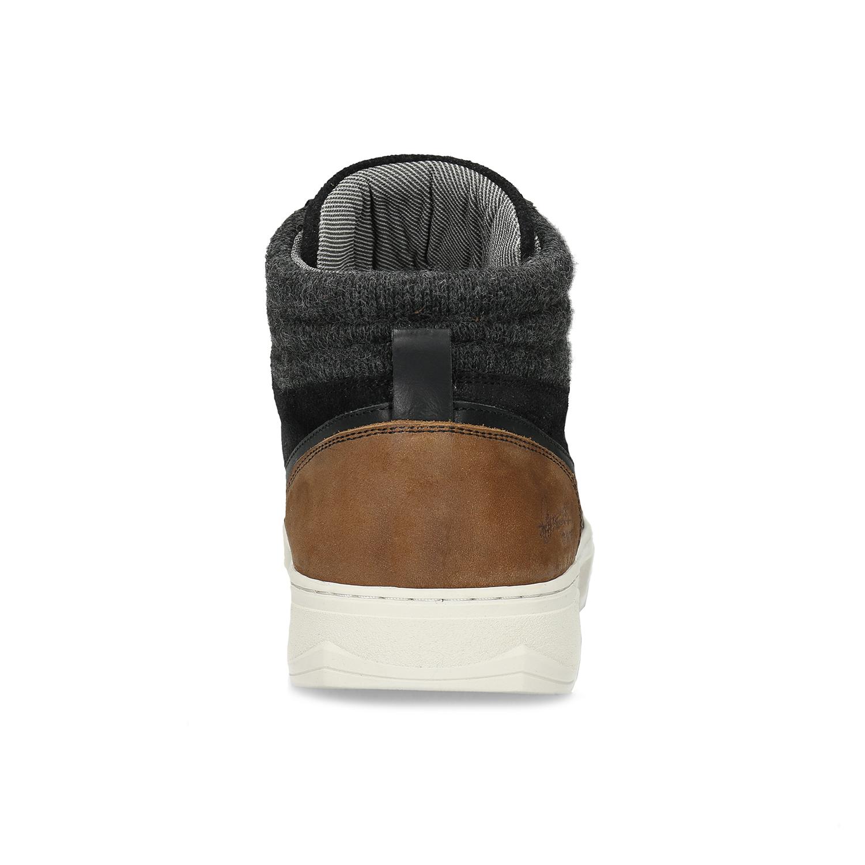6c3d721b1db0f ... Čierne členkové pánske tenisky bata, čierna, 846-6722 - 15 ...
